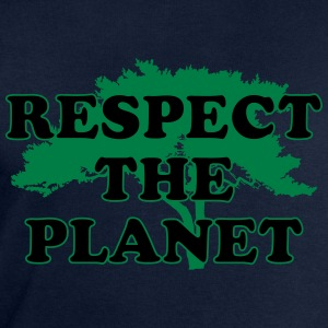 Respect the Planet T-Shirts - Männer Sweatshirt von Stanley & Stella