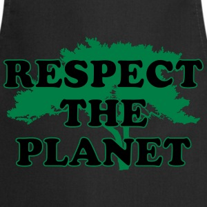 Respect the Planet Magliette - Grembiule da cucina