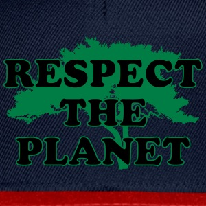 Respect the Planet T-Shirts - Snapback Cap