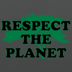 Respect the Planet Pullover & Hoodies - Stoffbeutel