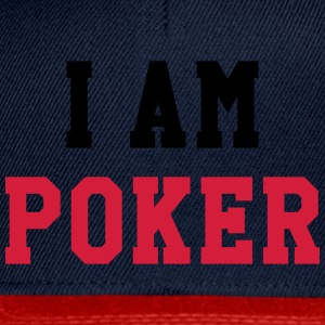 I am Poker Skjorter - Snapback-caps