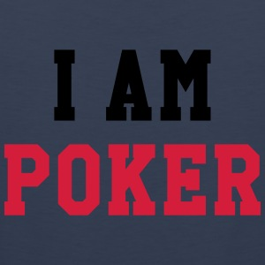 I am Poker Shirts - Mannen Premium tank top