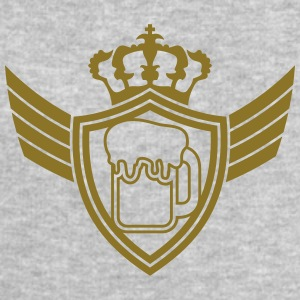 Oktoberfest Beer Blazon Logo T-Shirts - Men's Sweatshirt by Stanley & Stella