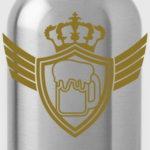 Oktoberfest Beer Blazon Logo T-Shirts - Water Bottle