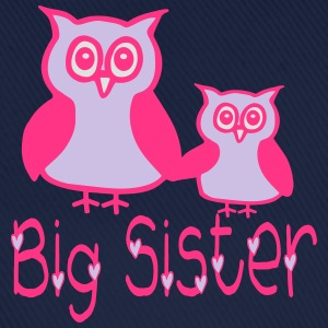 Eule_Big sister Shirts - Baseball Cap