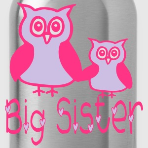 Eule_Big sister  Aprons - Water Bottle