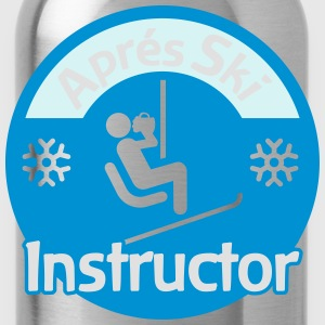 Aprés Ski Instructor T-Shirts - Water Bottle