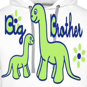 Dino_big brother Tee shirts - Sweat-shirt à capuche Premium pour hommes
