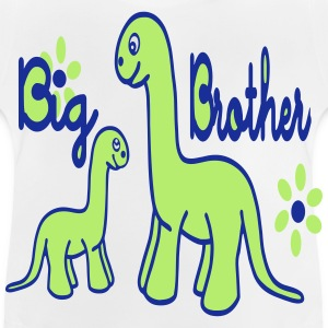 Dino_big brother Tee shirts - T-shirt Bébé