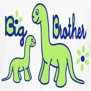 Dino_big brother Shirts - Mannen Premium shirt met lange mouwen