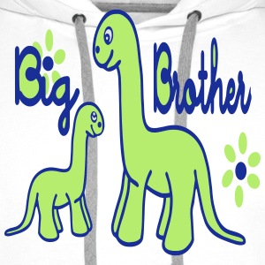 Dino_big brother Skjorter - Premium hettegenser for menn