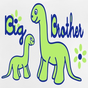 Dino_big brother Skjorter - Baby-T-skjorte