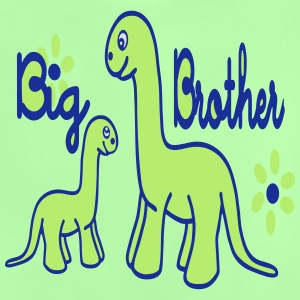 Dino_big brother Tröjor - Baby-T-shirt