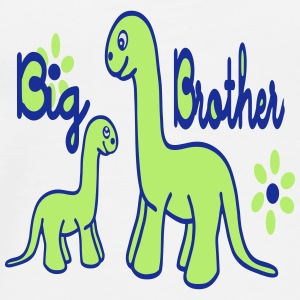 Dino_big brother Flaskor & muggar - Premium-T-shirt herr