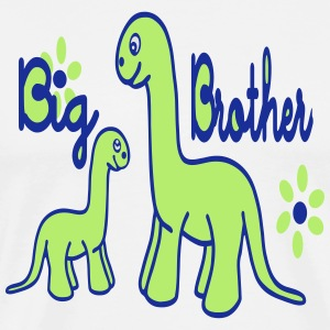 Dino_big brother Tabliers - T-shirt Premium Homme