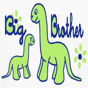 Dino_big brother  Aprons - Men's Premium Longsleeve Shirt
