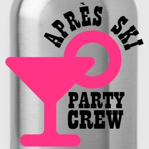 Apres ski party crew T-Shirts - Water Bottle