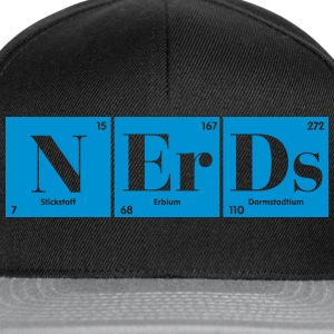 for chemistrynerds T-Shirts - Snapback Cap