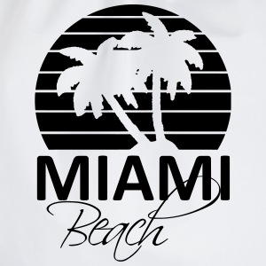 miami beach Shirts - Drawstring Bag