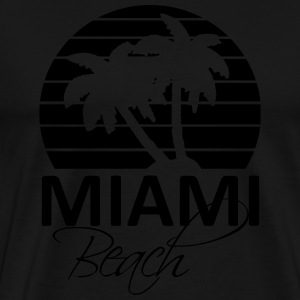 miami beach Bags & backpacks - Men's Premium T-Shirt