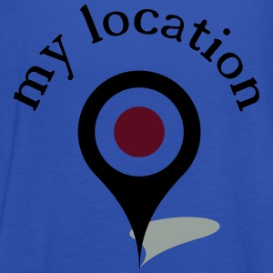 my location navi T-Shirts - Women's Tank Top by Bella