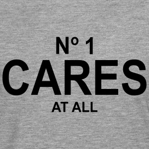 No 1 Cares At All T-Shirts - Men's Premium Longsleeve Shirt