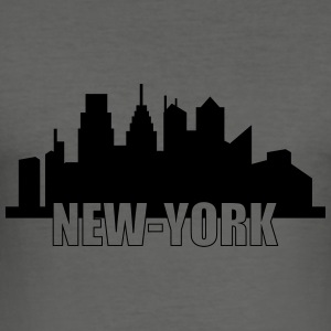 New-York Sweats - Tee shirt près du corps Homme