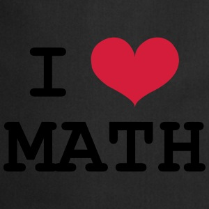 I Love Math Sweaters - Keukenschort