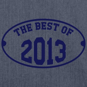 The Best of 2013 T-shirts - Skuldertaske af recycling-material