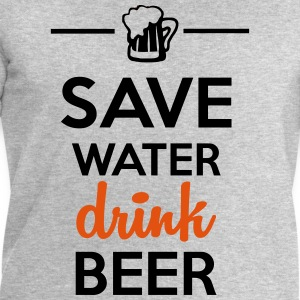 Alcohol Leuk shirt  - Save Water drink Beer T-shirts - Mannen sweatshirt van Stanley & Stella