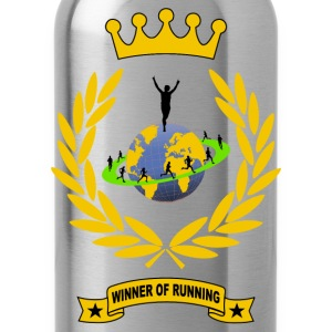 winner of running T-Shirts - Water Bottle