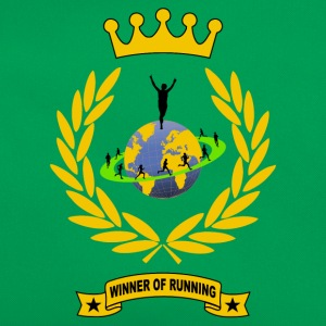 winner of running T-Shirts - Retro Bag