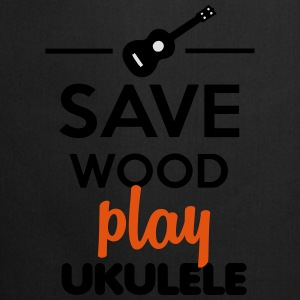 Save Wood play Ukulele Felpe - Grembiule da cucina