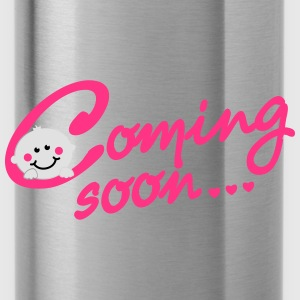 Coming soon Baby T-Shirts - Water Bottle