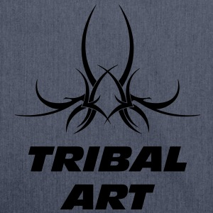 Tribal Art T-shirts - Skuldertaske af recycling-material