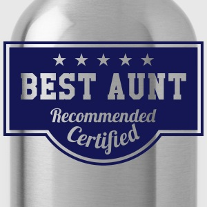 Best Aunt T-Shirts - Water Bottle