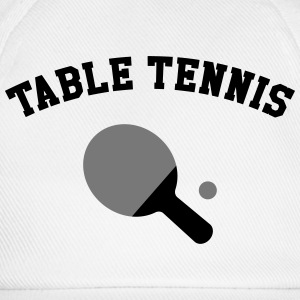 Table Tennis T-Shirts - Baseballkappe