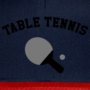 Table Tennis Tee shirts - Casquette snapback