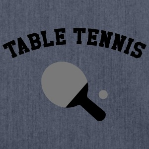 Table Tennis T-Shirts - Schultertasche aus Recycling-Material