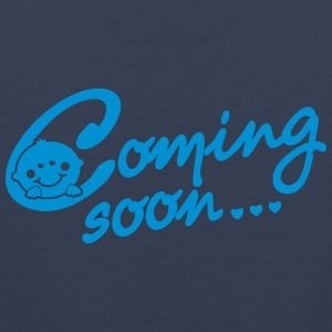 Coming soon Baby T-Shirts - Men's Premium Tank Top