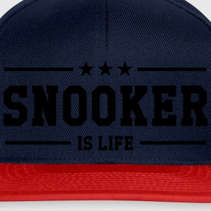 Snooker is life ! Shirts - Snapback Cap
