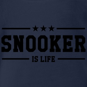 Snooker is life ! Tee shirts - Body bébé bio manches courtes