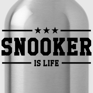 Snooker is life ! T-shirts - Drikkeflaske
