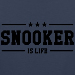 Snooker is life ! T-shirts - Herre Premium tanktop