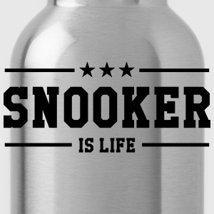 Snooker is life ! T-shirts - Vattenflaska