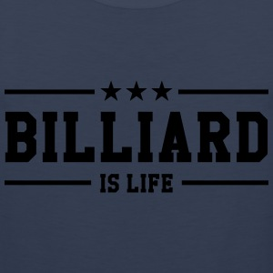 Billiard is life ! Koszulki - Tank top męski Premium