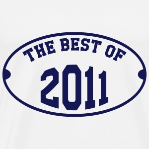 The Best of 2011 Sweatshirts - Herre premium T-shirt
