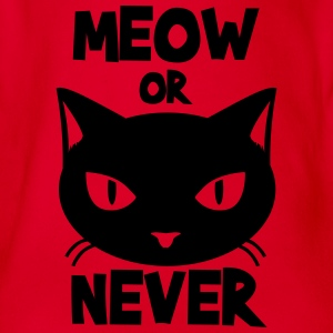 Meow or never Tee shirts - Body bébé bio manches courtes