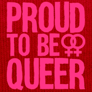 proud to be queer - lesbian Tee shirts - Bonnet d'hiver