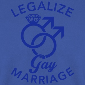 Legalize Gay Marriage T-Shirts - Men's Sweatshirt